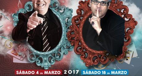 Cartel Doble Gala Internacional de Magia de Cerca. Zamora (2017)