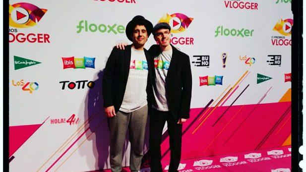El mago Paco González en los Premios Vlogger del teatro Goya de Madrid