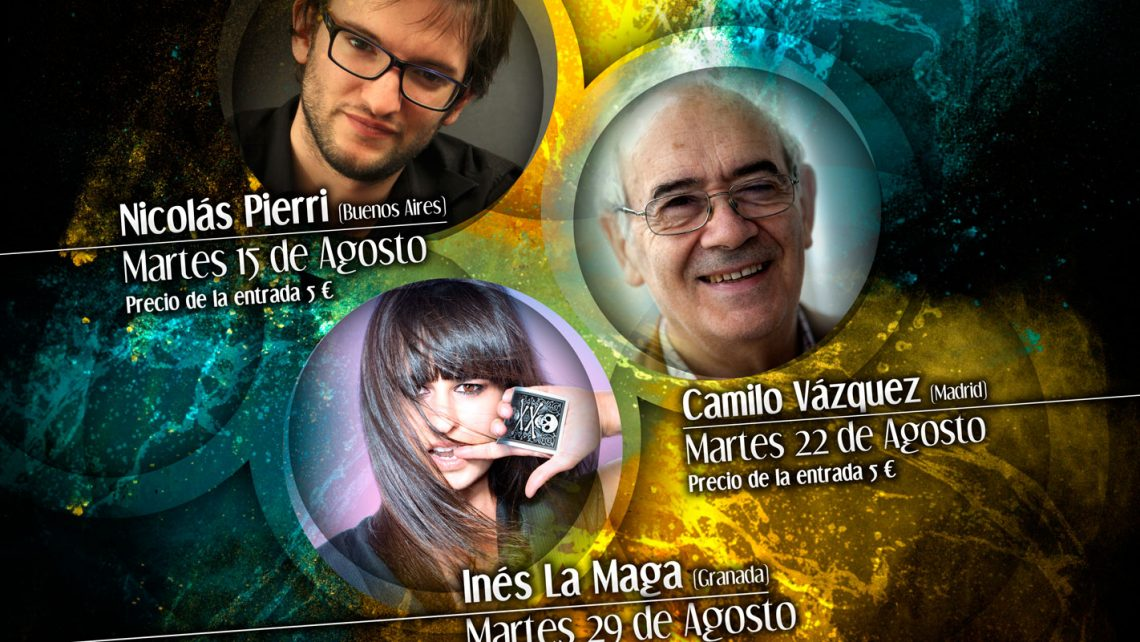 Cartel VI Ciclo Nacional de Magia de Cerca. Zamora 2017