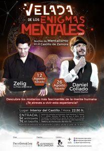 Velada de los Enigmas Mentales. Zamora 2017